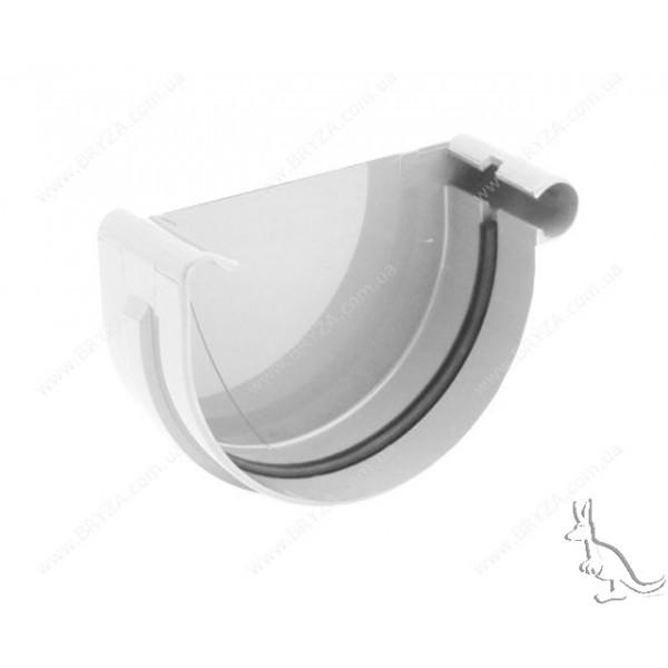 BRYZA Заглушка правая 125 mm  Белый