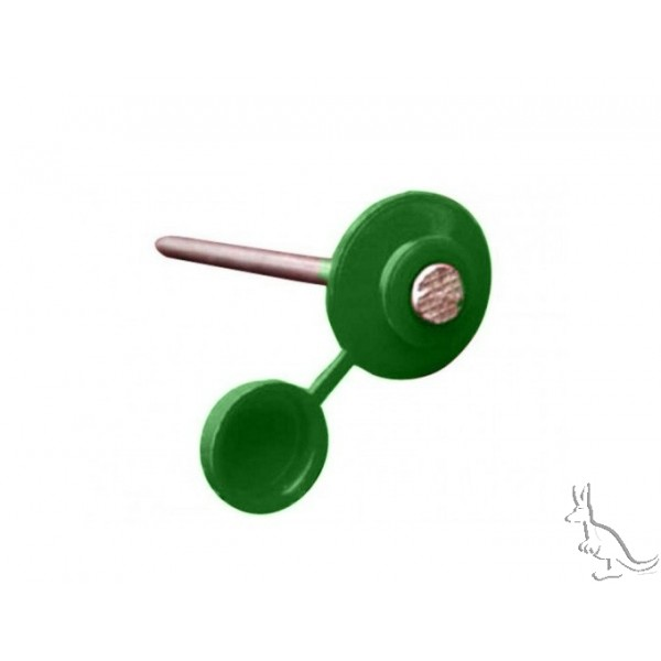 Ондулин ГВОЗДИ зеленые с закрывающейся шляпкой (100 шт)