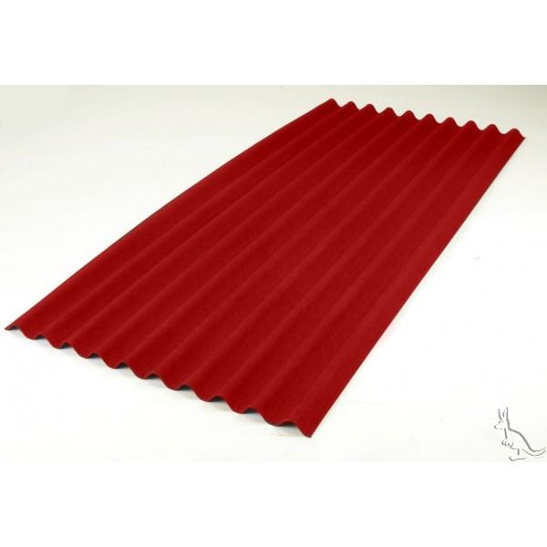 Ондулин лист красный (0,95х2) красный