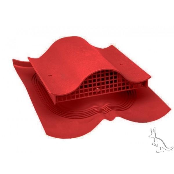 ВИЛЬПЕ DECRA-KTV кровельный вентиль красный для SPANY красный