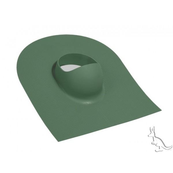Vilpe Huopa проходной элемент для гибкой черепицы зеленый