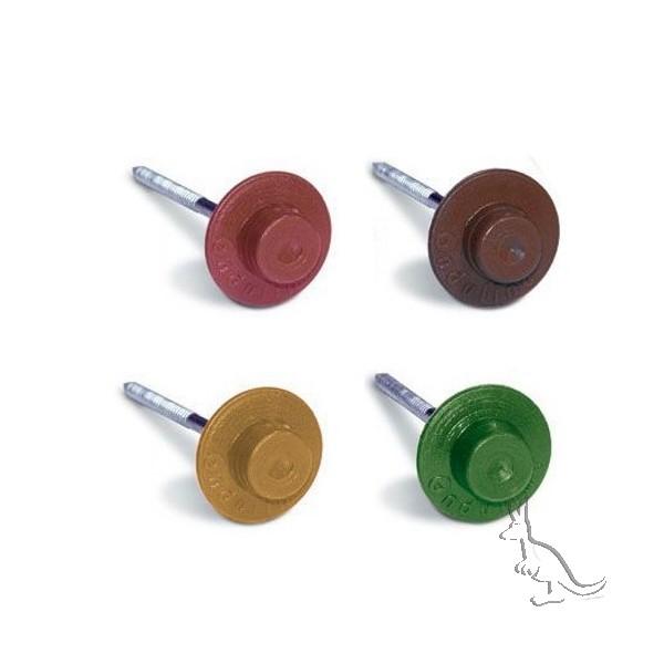 Гвозди для Ондувилла с пластиковой шляпкой
