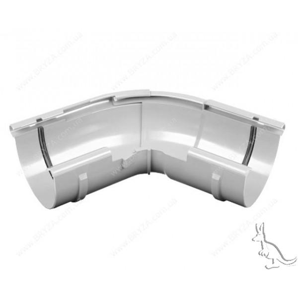 BRYZA Угол внешний регулируемый 125 mm Белый