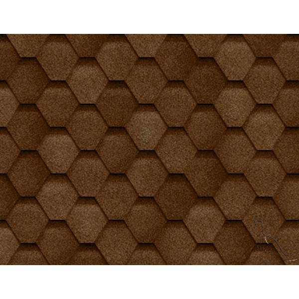 ROOFSHIELD Фемили ЭКО  коричневый с оттенением