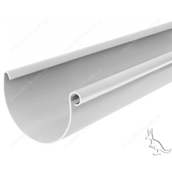 BRIZA Желоб 125 mm Белый