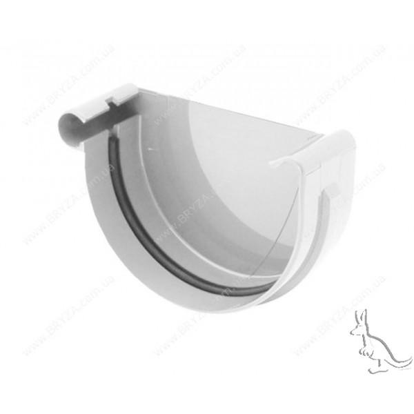 BRYZA Заглушка левая 125 mm Белый