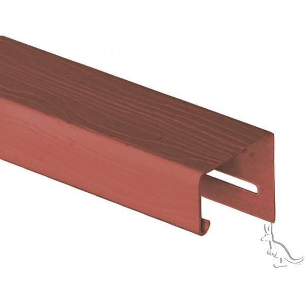 Holzblock J-Профиль Золотой дуб, длина 3,66 м